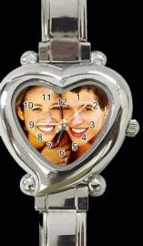 PERSONALISED PHOTO WATCH HEART