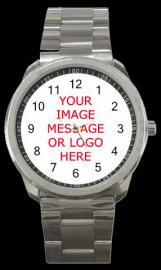 PERSONALISED PHOTO WATCH SPORTS