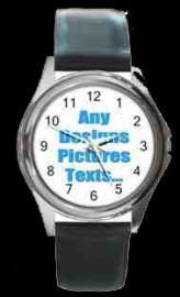PERSONALISED PHOTO WATCH ROUND