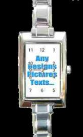 PERSONALISED PHOTO WATCH RECTANGLE