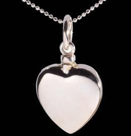 HEART SHAPED MAYFAIR MEMORIAL ASH PENDANT