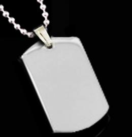 STAINLESS STEEL SMALL DOG TAG