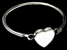 PHOTO HEART BANGLE