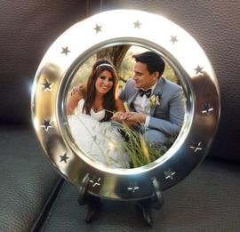 PERSONALISED ROUND PHOTO PLATE